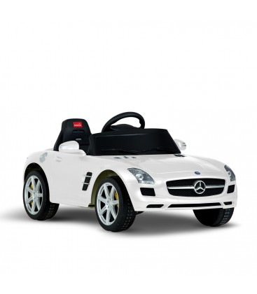 Mercedes Benz SLS AMG White